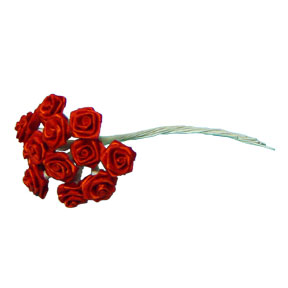 Click for larger picture of RED ROSE MEDIUM 36PK PARTY SUPPLIES