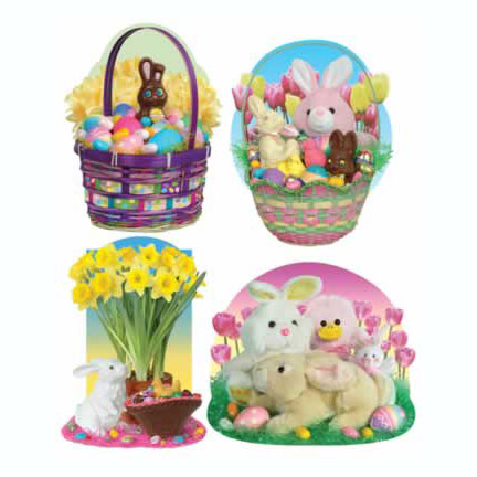 Click for larger picture of DISCONTINUED EASTER CANDY DECORATION PARTY SUPPLIES