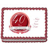 40TH ANNIVERSARY CUSTOM EDIBLE PARTY SUPPLIES
