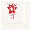40TH - TIME TO CELEBRATE BEVERAGE NAPKIN PARTY SUPPLIES
