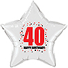 40TH BIRTHDAY STAR BALLOON PARTY SUPPLIES