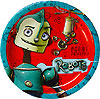 DISCONTINUED ROBOTS DESSERT PLATE PARTY SUPPLIES