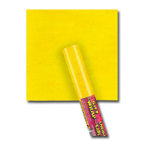 Click for larger picture of YELLOW GIFT WRAP PARTY SUPPLIES