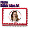 45TH BIRTHDAY PHOTO EDIBLE ICING ART PARTY SUPPLIES