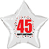 45TH BIRTHDAY STAR BALLOON PARTY SUPPLIES