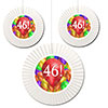 46TH BIRTHDAY BALLOON BLAST FAN DECORATI PARTY SUPPLIES