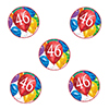 46TH BIRTHDAY BALLOON BLAST DECO FETTI PARTY SUPPLIES