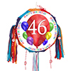 46TH BIRTHDAY BALLOON BLAST PINATA PARTY SUPPLIES