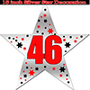 46TH SILVER STAR DECORATION PARTY SUPPLIES