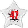 47TH BIRTHDAY STAR BALLOON PARTY SUPPLIES