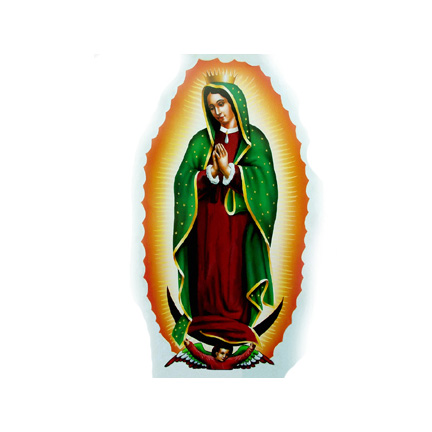 Click for larger picture of GUADALUPE LIFESIZE STANDUP PARTY SUPPLIES