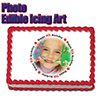 4TH BIRTHDAY PHOTO EDIBLE ICING ART PARTY SUPPLIES