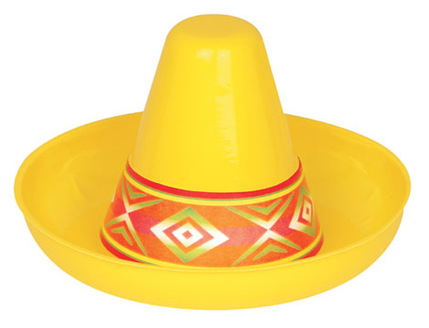 Click for larger picture of MINI SOMBREROS - PLASTIC PARTY SUPPLIES 298557d203b