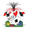 PLAYING CARD CENTERPIECE (12/CASE) PARTY SUPPLIES