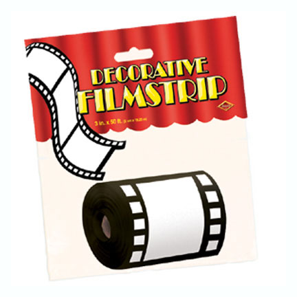 DECORATVE FILMSTRIP (12/CASE) PARTY SUPPLIES