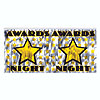 DISCONTINUED AWARDS NIGHT BANNER PARTY SUPPLIES