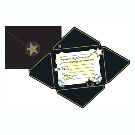 AWARDS NIGHT INVITATION (96/CASE) PARTY SUPPLIES