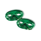 Click for larger picture of GREEN HALF MASK PARTY SUPPLIES