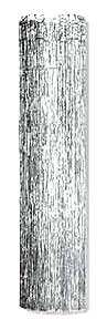 Click for larger picture of 1-PLY FP GLEAM 'N COLUMN SILVER 8'X1' PARTY SUPPLIES