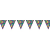 CONGRATS GRAD PENNANT BANNER (12 FT) PARTY SUPPLIES