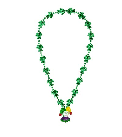 MARDI GRAS JESTER BEAD (12/CASE) PARTY SUPPLIES