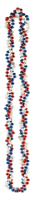 BRAIDED BEADS 33IN. (12/CASE) PARTY SUPPLIES