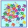 70TH CONFETTI PARTY SUPPLIES