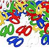 40TH CONFETTI MULTI-COLOR PARTY SUPPLIES