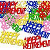 RETIREMENT CONFETTI PARTY SUPPLIES