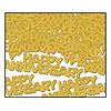 GOLDEN ANNIVERSARY CONFETTI PARTY SUPPLIES