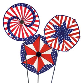 PATRIOTIC WIND-WHEELS PARTY SUPPLIES