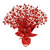 RED STAR GLEAM N BURST CENTERPIECE  PARTY SUPPLIES