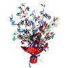 70TH BIRTHDAY GLEAMN BURST CENTERPIECE PARTY SUPPLIES
