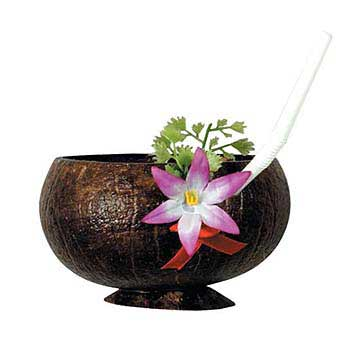 Click for larger picture of COCONUT CUP (10 OZ.) PARTY SUPPLIES