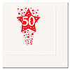 50TH - TIME TO CELEBRATE BEVERAGE NAPKIN PARTY SUPPLIES