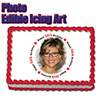 50TH BIRTHDAY PHOTO EDIBLE ICING ART PARTY SUPPLIES