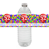 52ND BALLOON BLAST WATER BOTTLE LABEL PARTY SUPPLIES
