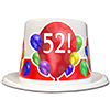 52ND BIRTHDAY BALLOON BLAST TOP HAT PARTY SUPPLIES