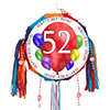 52ND BIRTHDAY BALLOON BLAST PINATA PARTY SUPPLIES