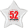 52ND BIRTHDAY STAR BALLOON PARTY SUPPLIES