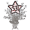 53! SILVER STAR CENTERPIECE PARTY SUPPLIES