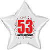 53RD BIRTHDAY STAR BALLOON PARTY SUPPLIES