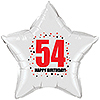 54TH BIRTHDAY STAR BALLOON PARTY SUPPLIES