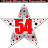 54TH SILVER STAR DECORATION PARTY SUPPLIES