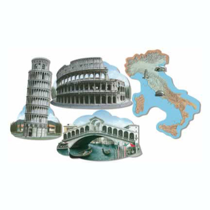 ITALIAN DECORATION (48/CASE) PARTY SUPPLIES