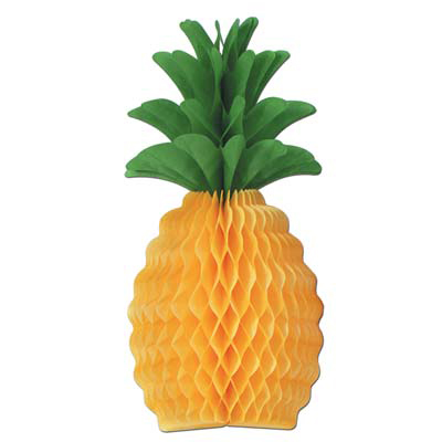 TISSUE PINEAPPLE 20IN. (12/CASE) PARTY SUPPLIES