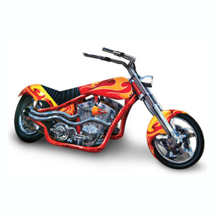 BULK CHOPPER - MOTORCYCLE PARTY SUPPLIES