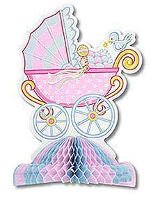 Click for larger picture of BUGGY BABY CENTERPIECE (10IN.) PARTY SUPPLIES