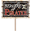 PIRATE PARTY YARD SIGN (6/CASE) PARTY SUPPLIES