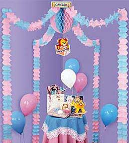 Baby shower party decorations baby shower canopy for Baby shower canopy decoration
